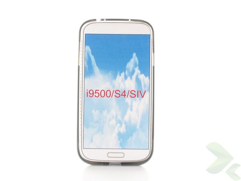 Geffy - Etui Samsung Galaxy S4 TPU pure smoke