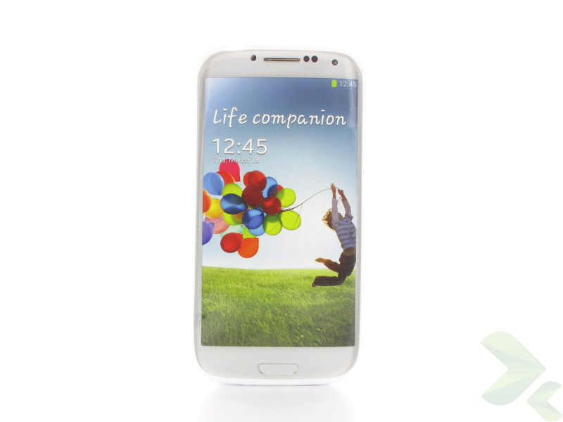 Geffy - Etui Samsung Galaxy S4 TPU dual clear white