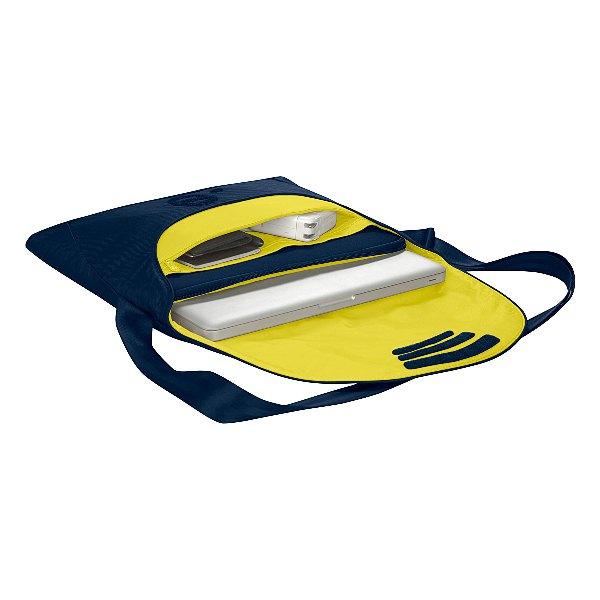 """be.ez LA garde robe Chic Marine - Torba MacBook Air 13"""" / MacBook Pro 13"""" / MacBook Pro 13"""" Retina / Notebook 13"""" (granatowy/żółty)"""