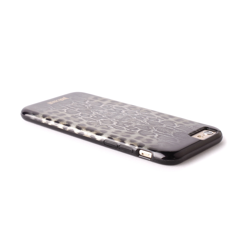 JUST CAVALLI Python Leopard Cover - Etui iPhone 6s / iPhone 6 (czarny)