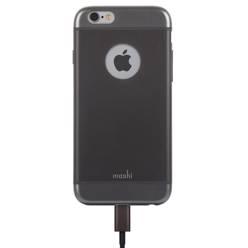 Moshi iGlaze - Etui iPhone 6s / iPhone 6 (czarny)