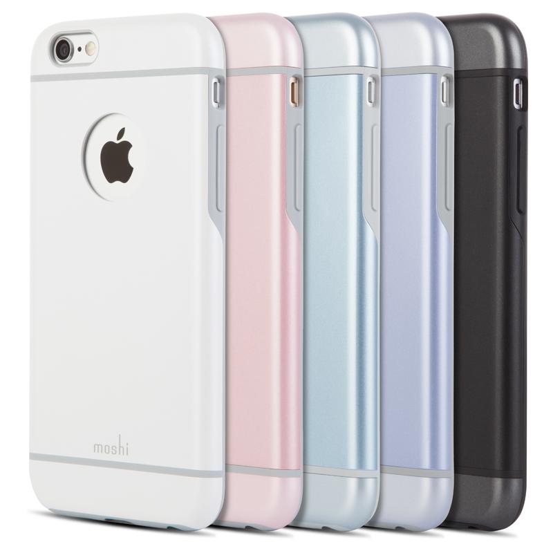 Moshi iGlaze - Etui iPhone 6s Plus / iPhone 6 Plus (czarny)