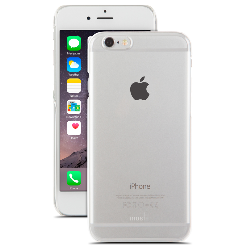 Moshi iGlaze XT - Etui iPhone 6s / iPhone 6 (przezroczysty)