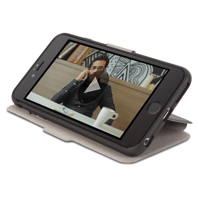 Moshi SenseCover - Etui z klapką dotykową iPhone 6s Plus / iPhone 6 Plus (czarny)