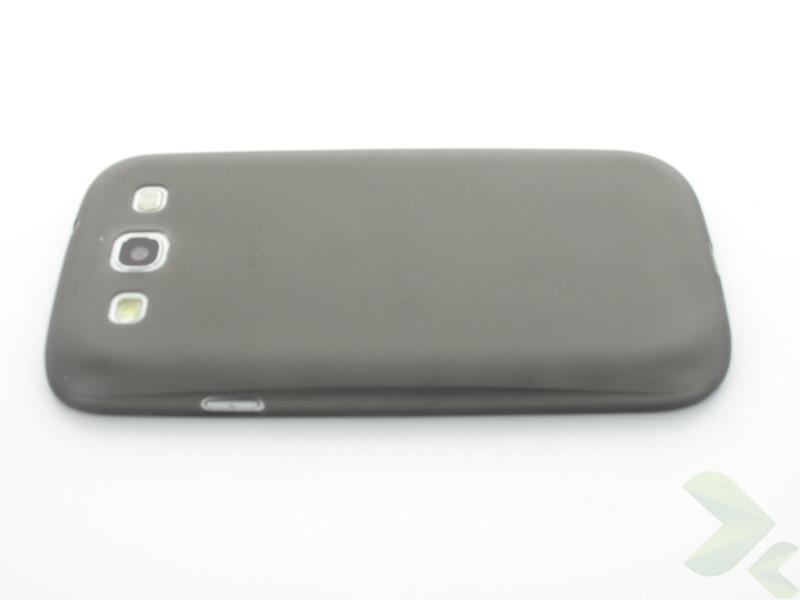 Geffy - Etui Samsung Galaxy S III ultra-thin mat black
