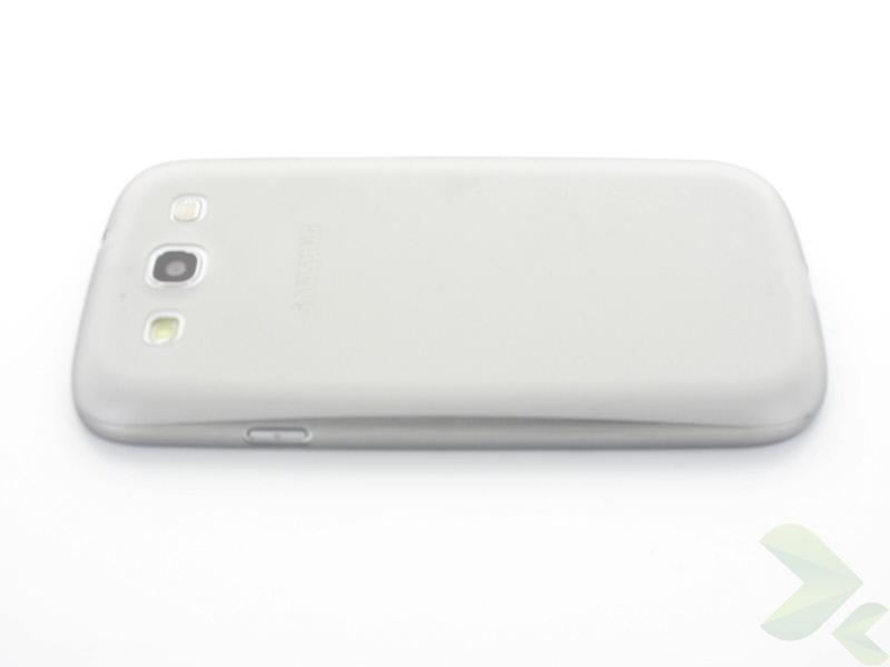 Geffy - Etui Samsung Galaxy S III ultra-thin mat smoke