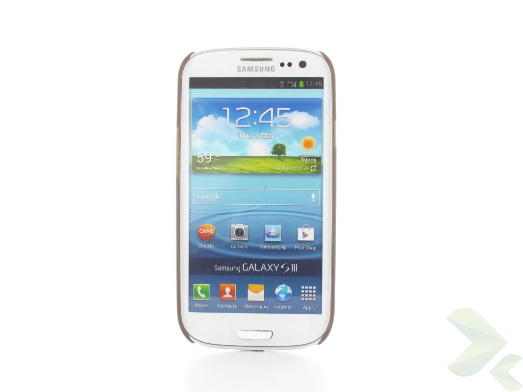 Geffy - Etui Samsung Galaxy S III thin mat black