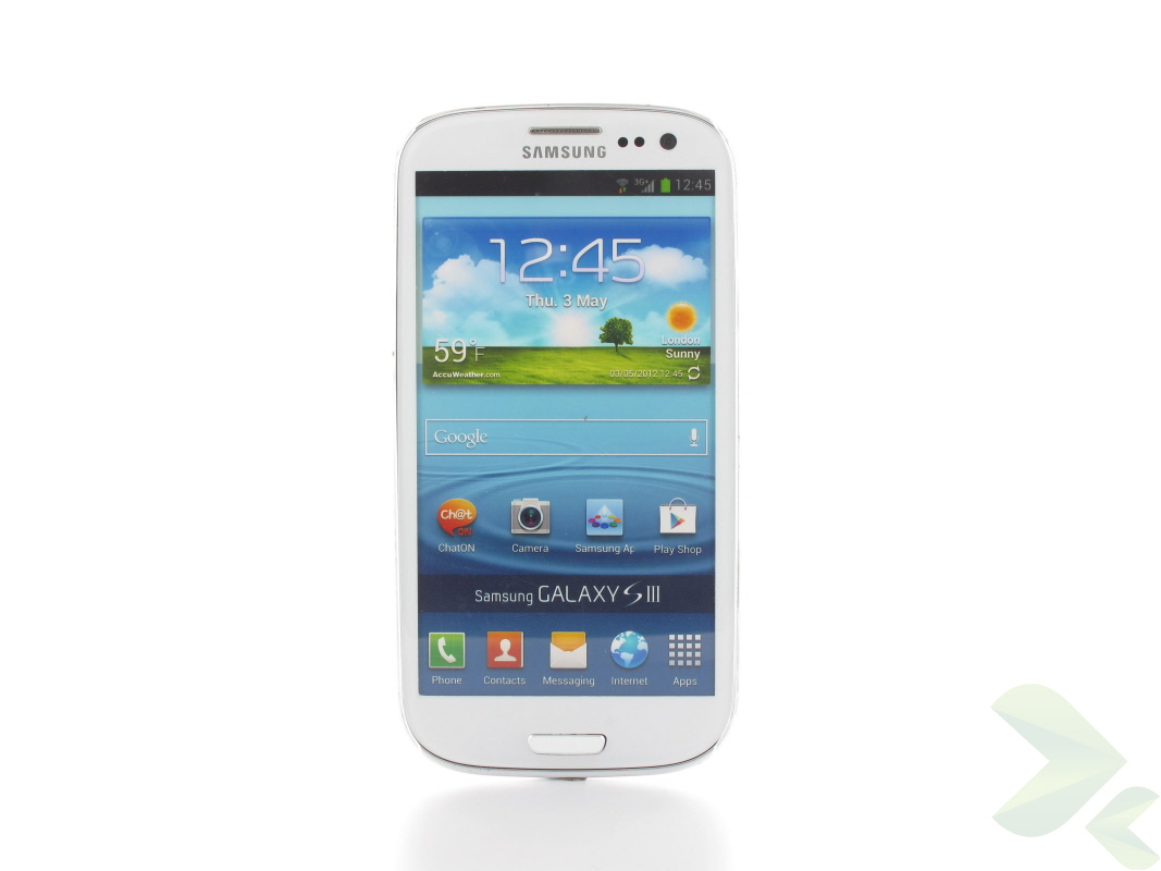 Geffy - Etui Samsung Galaxy S III thin mat clear