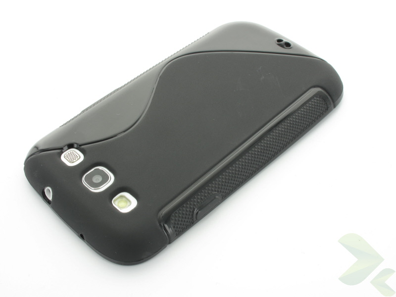 Geffy - Etui Samsung Galaxy S III TPU S black