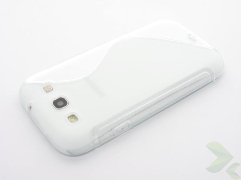 Geffy - Etui Samsung Galaxy S III TPU S clear
