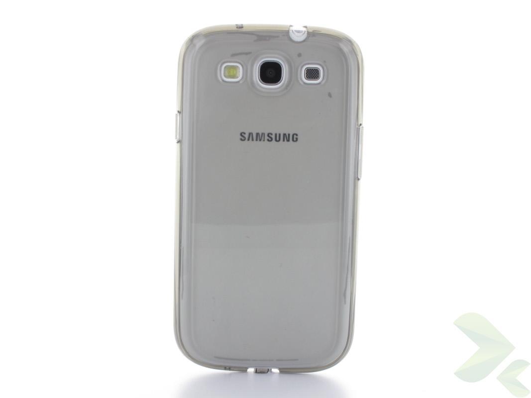 Geffy - Etui Samsung Galaxy S III TPU pure smoke