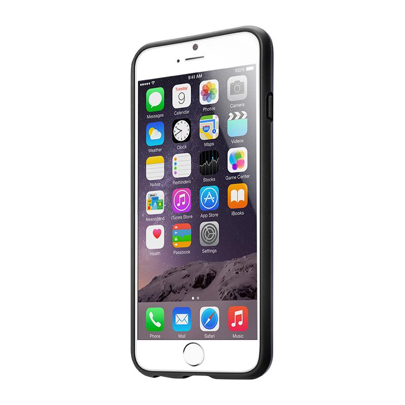 Laut HUEX - Etui iPhone 6s Plus / iPhone 6 Plus z 2 foliami na ekran w zestawie (czarny)