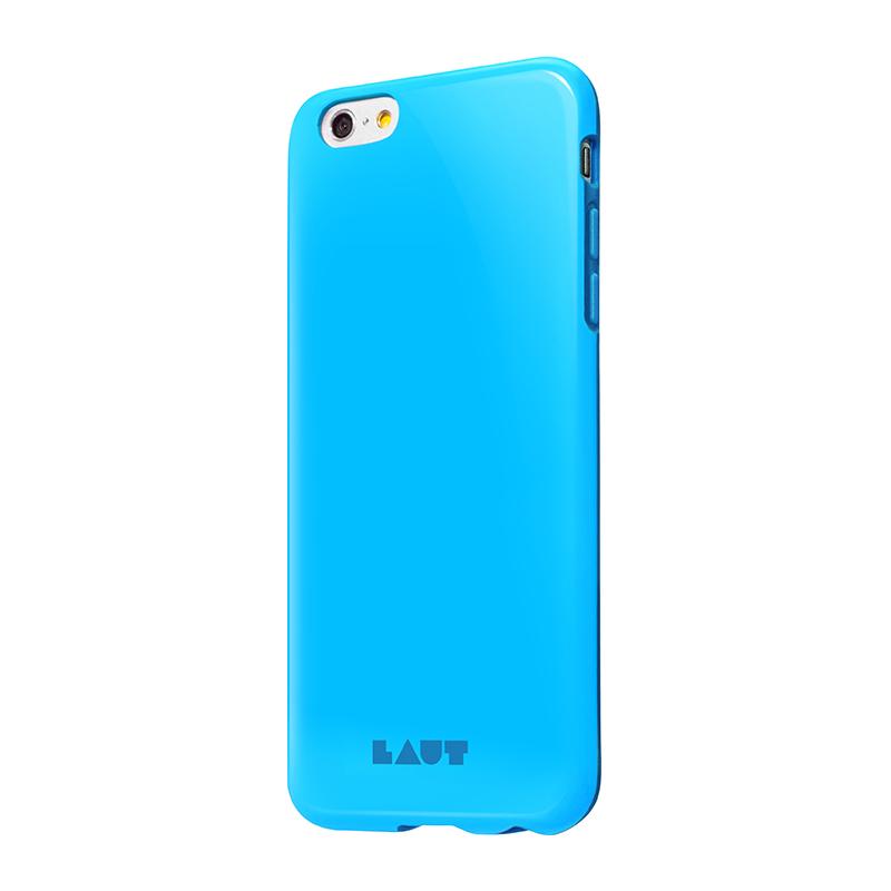 Laut HUEX - Etui iPhone 6s Plus / iPhone 6 Plus z 2 foliami na ekran w zestawie (niebieski)
