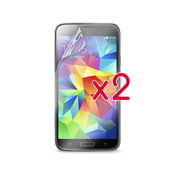 PURO Dwie folie na ekran - Samsung Galaxy S5/S5 Neo