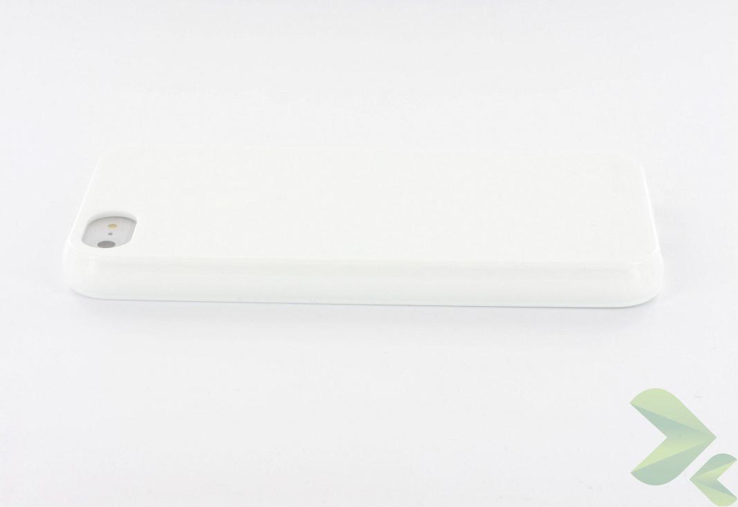 Geffy - Etui iPhone SE / iPhone 5s / iPhone 5 TPU solid color white