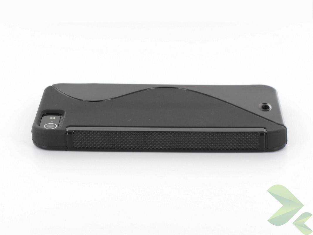 Geffy - Etui iPhone SE / iPhone 5s / iPhone 5 TPU S black