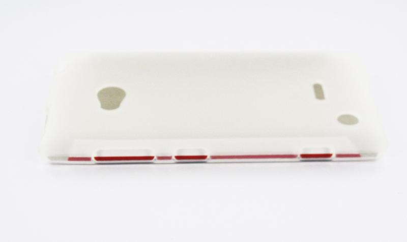 Geffy - Etui Nokia Lumia 720 TPU mat clear