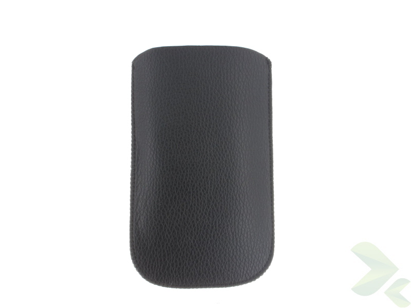 Geffy - Etui uniwersalne Tel 112x65 pull-up eko-skóra black