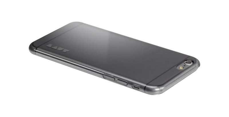 Laut SLIM - Etui iPhone 6s / iPhone 6 z 2 foliami na ekran w zestawie (czarny przezroczysty)