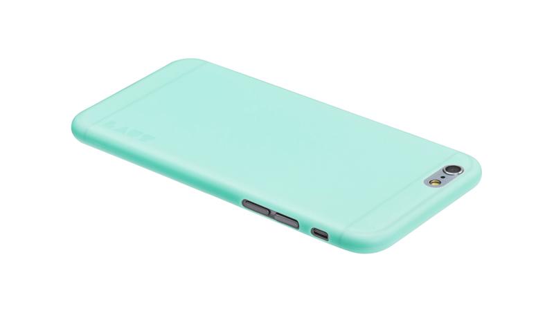 Laut SLIMSKIN - Etui iPhone 6s Plus / iPhone 6 Plus z 2 foliami na ekran w zestawie (miętowy)
