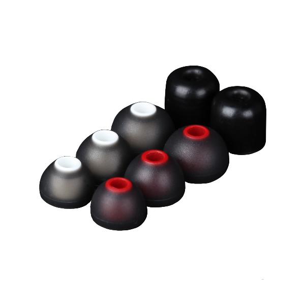 Moshi Vortex Dark Steel - Słuchawki douszne premium z przetwornikami RigidBody HR8