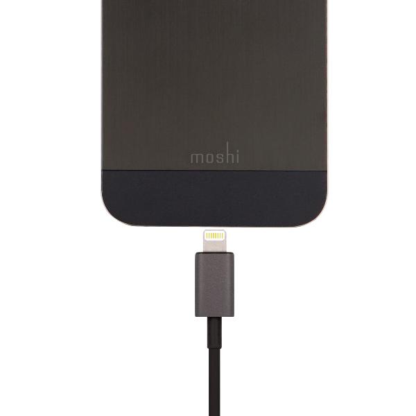 Moshi Kabel połączeniowy USB Apple złącze Lightning MFi (grafitowy)