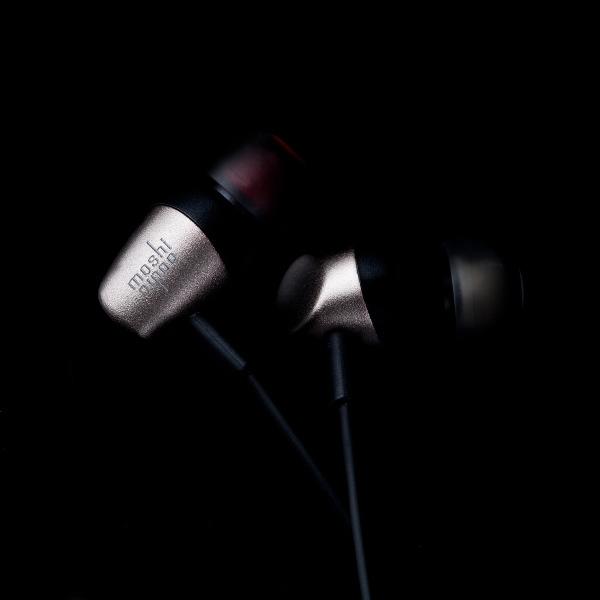 Moshi Mythro Gunmetal Gray - Słuchawki douszne z pilotem i mikrofonem
