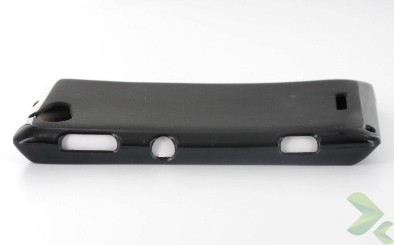 Geffy - Etui Sony Xperia L TPU solid color black