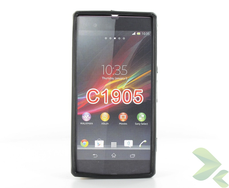 Geffy - Etui Sony Xperia M TPU solid color black