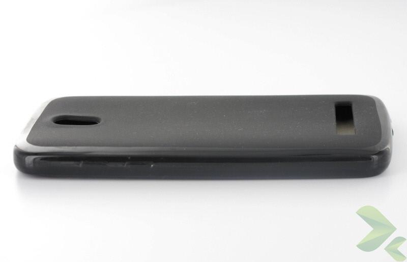 Geffy - Etui HTC Desire 500 TPU solid color black