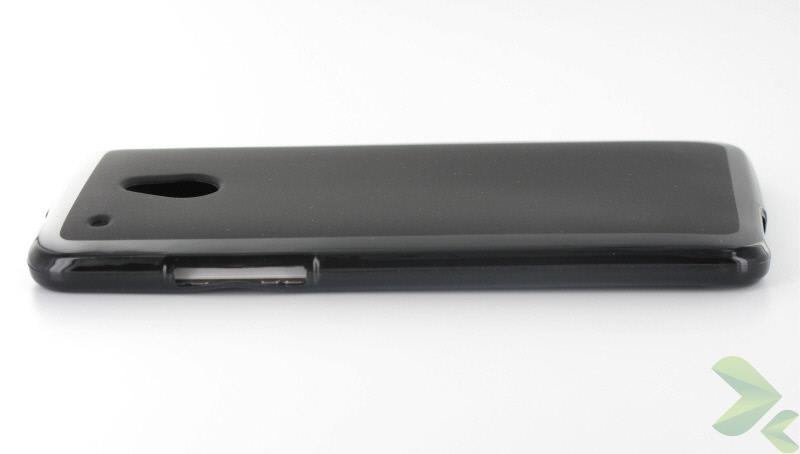 Geffy - Etui HTC One Mini TPU solid color black