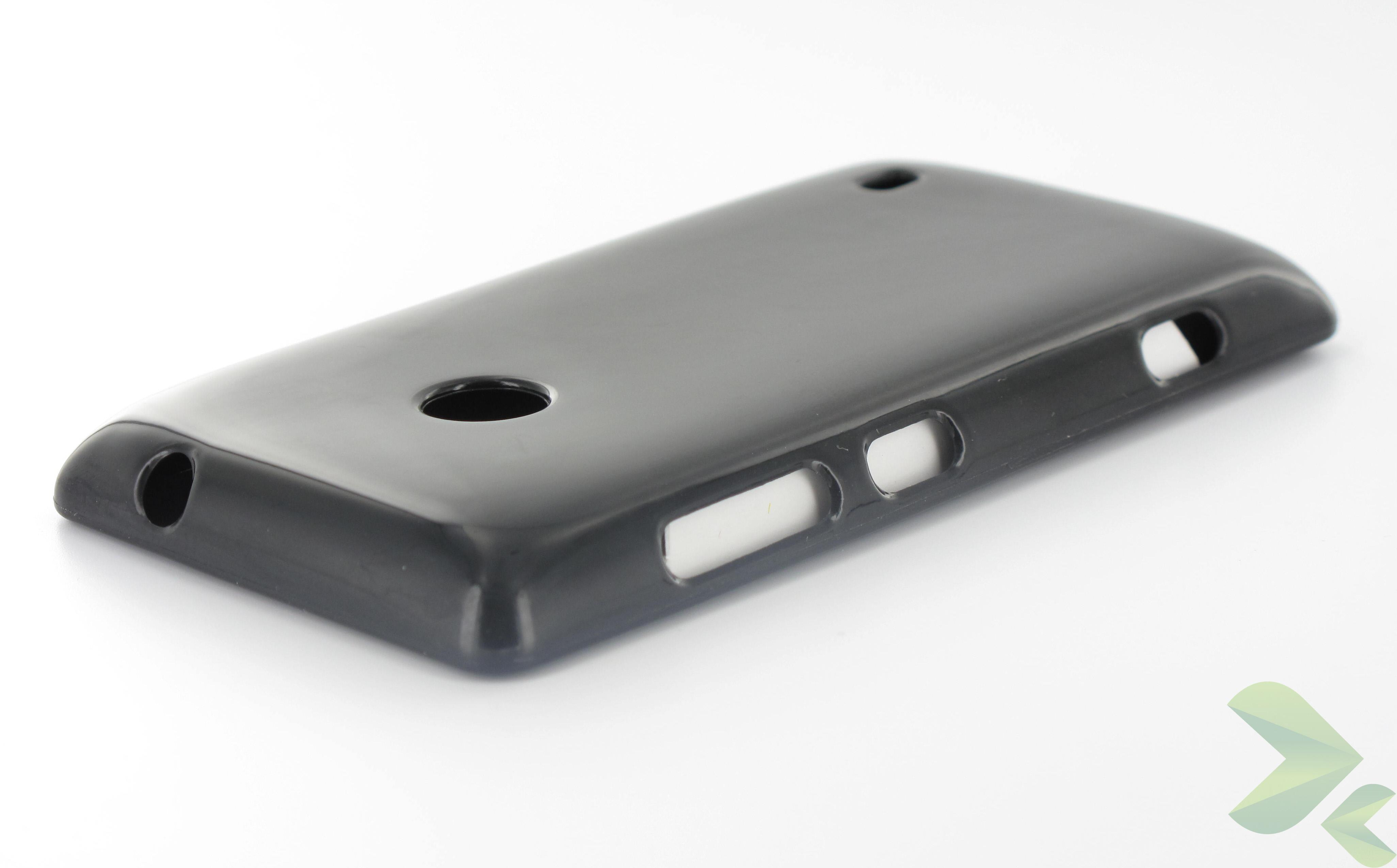 Geffy - Etui Nokia Lumia 520 TPU solid color black