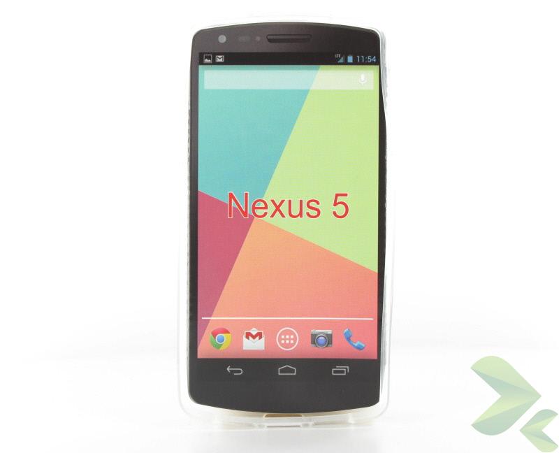 Geffy - Etui LG Nexus 5 TPU mat clear
