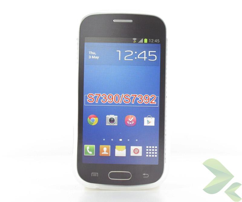Geffy - Etui Samsung Galaxy Trend Lite S7390 TPU mat clear