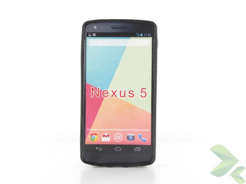 Geffy - Etui LG Nexus 5 TPU solid color black