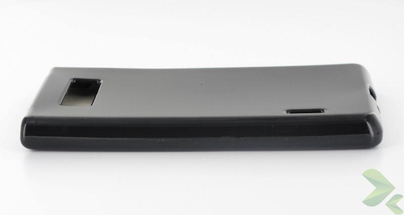 Geffy - Etui LG L7 P700 TPU solid color black