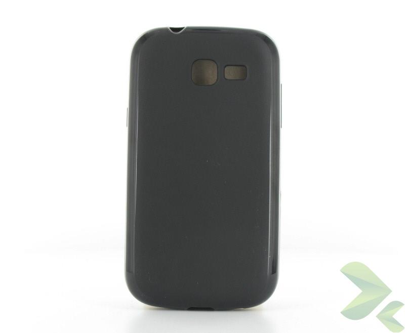 Geffy - Etui Samsung Galaxy Trend Lite S7390 TPU solid color black
