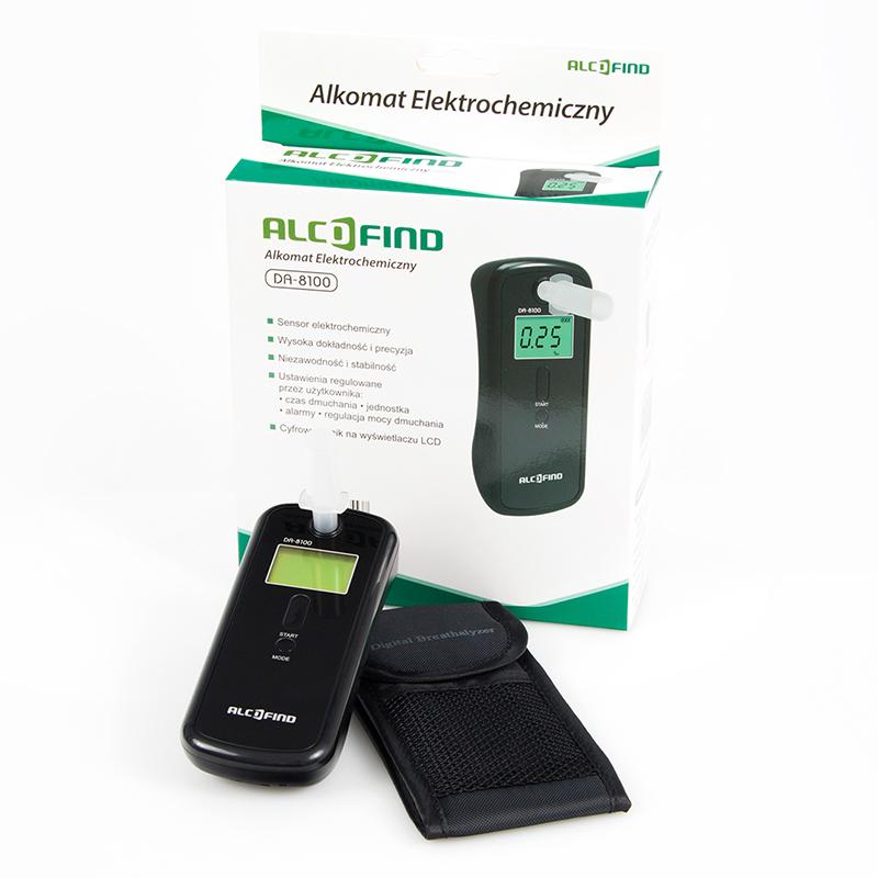 AlcoFind DA-8100 - Alkomat Elektrochemiczny