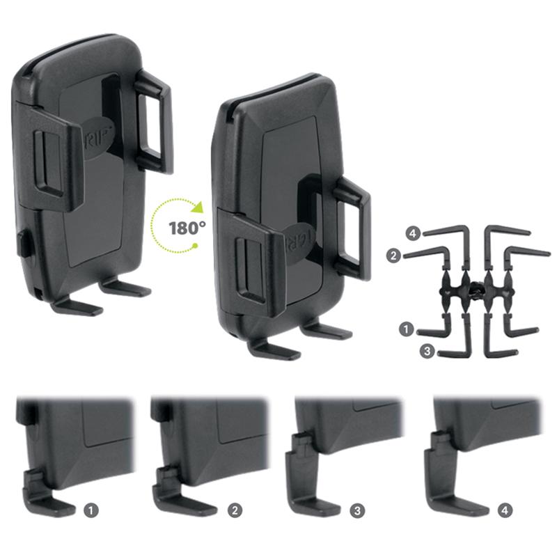 iGrip Universal Traveler Kit - Uniwersalny uchwyt samochodowy do smartfonów o szer. 44 - 84 mm