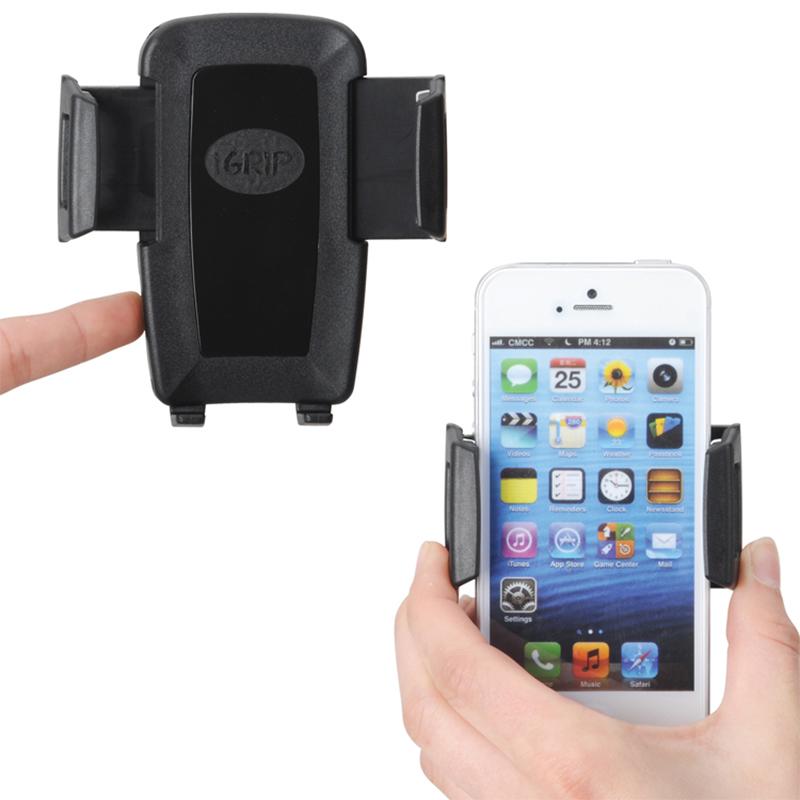 iGrip Universal Xtender Kit - Uniwersalny uchwyt samochodowy do smartfonów o szer. 44 - 84 mm