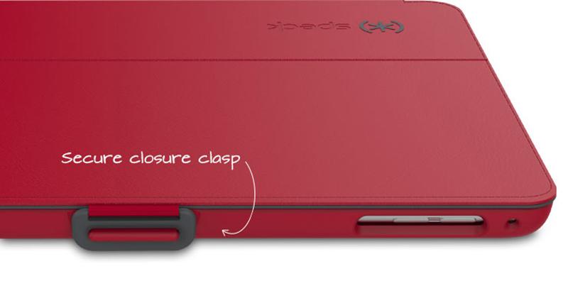 Speck StyleFolio - Etui iPad mini Retina 1/2/3 (Black/Slate Grey) zastępuje SPK-A3344