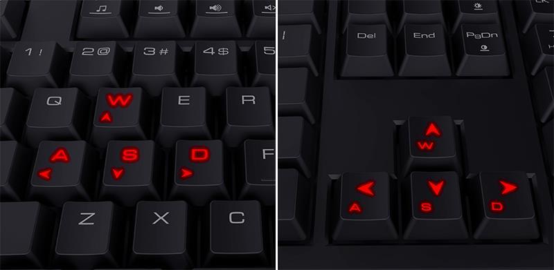 Gamdias Ares - Membranowa klawiatura dla graczy (16,8 mln RGB)
