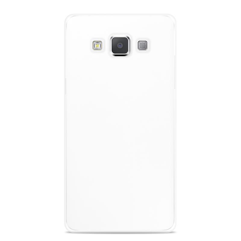 """PURO Ultra Slim """"0.3"""" Cover - Zestaw etui + folia na ekran Samsung Galaxy A5 (półprzezroczysty)"""