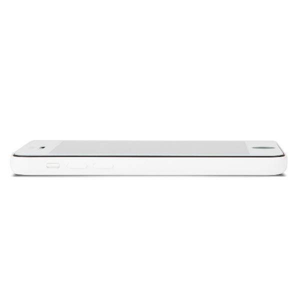 Moshi iVisor Glass - Szkło ochronne IonGlass na ekran do iPhone SE / iPhone 5s / iPhone 5c / iPhone 5 (biała ramka)