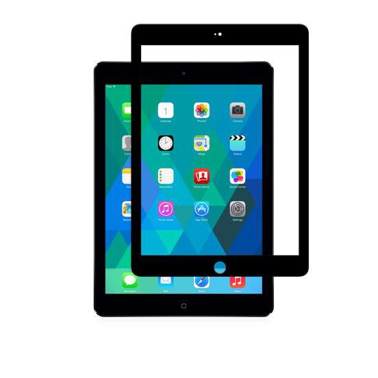 Moshi iVisor Glass - Szkło ochronne IonGlass iPad Air (czarny)