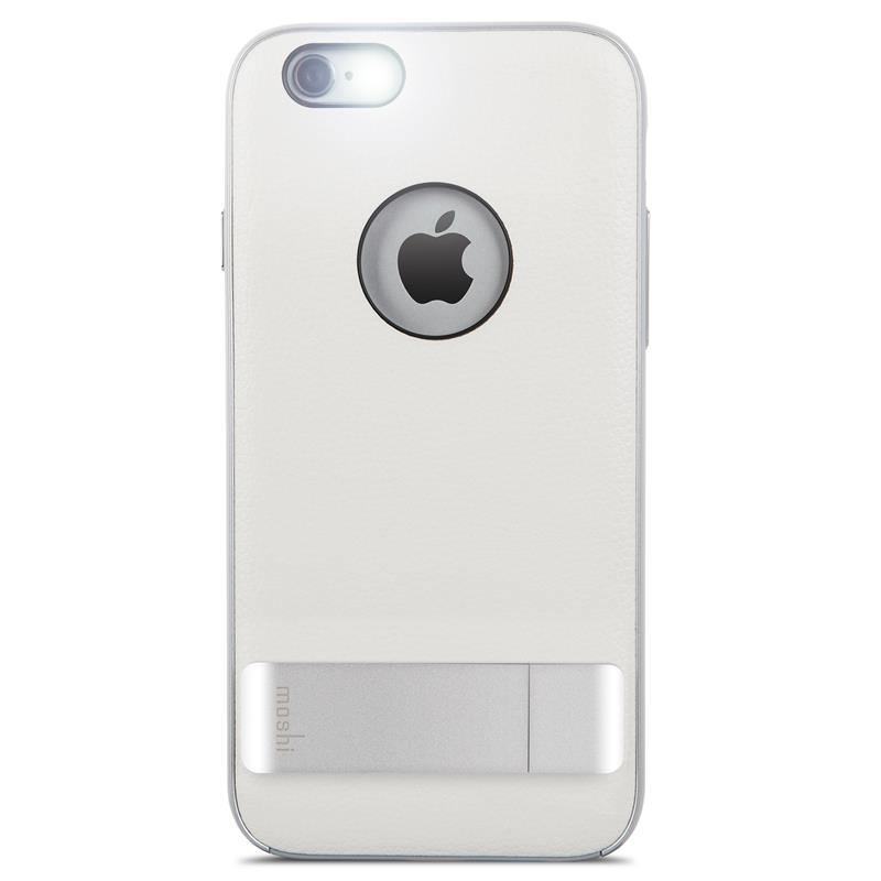 Moshi iGlaze Kameleon - Etui hardshell z podstawką iPhone 6s / iPhone 6 (Ivory White)
