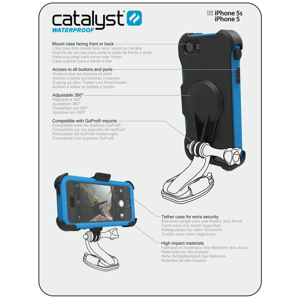 Catalyst Pro Adapter - Adapter mocowania GoPro iPhone SE / iPhone 5s / iPhone 5