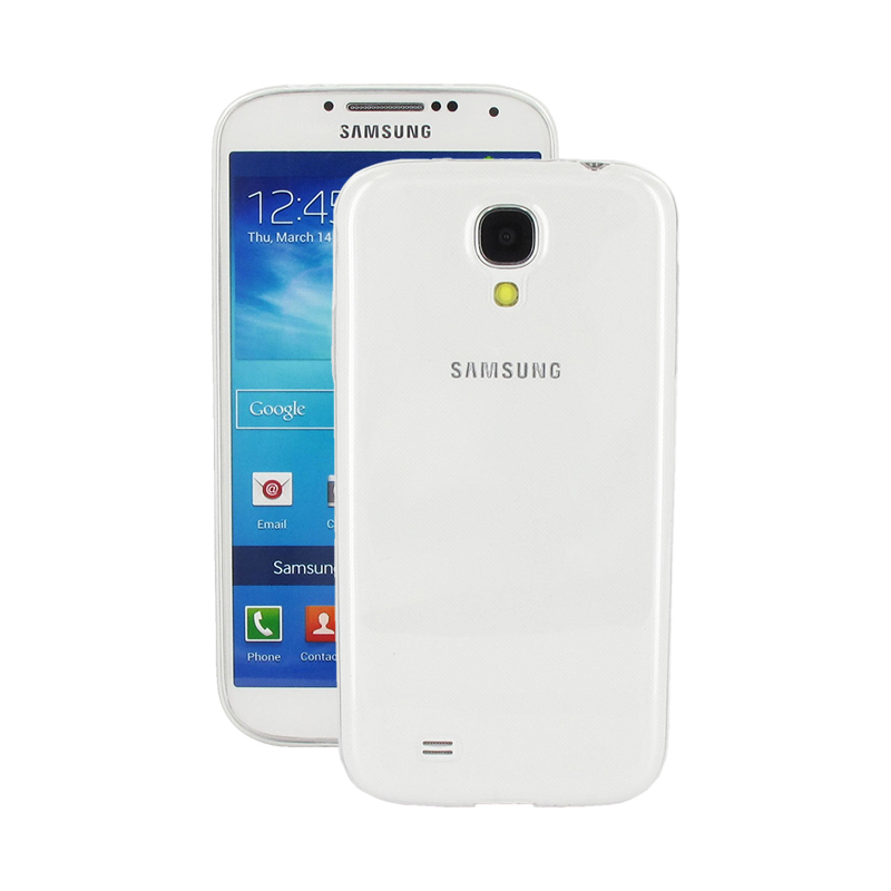 Geffy - Etui Samsung Galaxy S4 Slim TPU Frame Clear