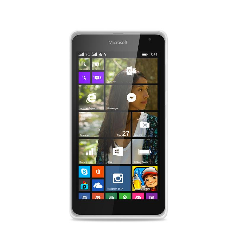 """PURO Ultra Slim """"0.3"""" Cover - Etui Microsoft Lumia 535 (półprzezroczysty)"""