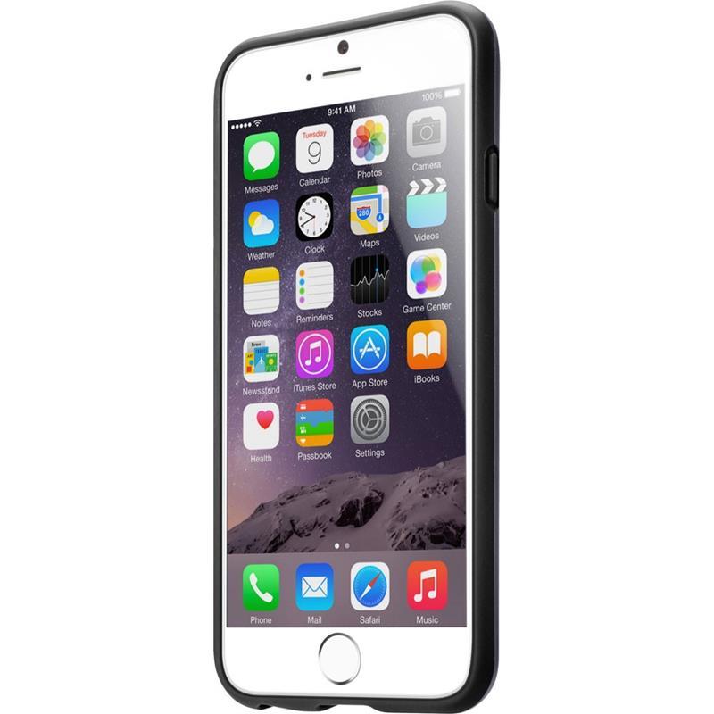 Laut HUEX ELEMENTS - Etui iPhone 6s / iPhone 6 z 2 foliami na ekran w zestawie (czarny)